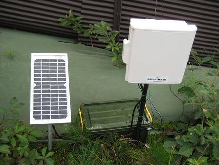 電気柵の電圧監視システム