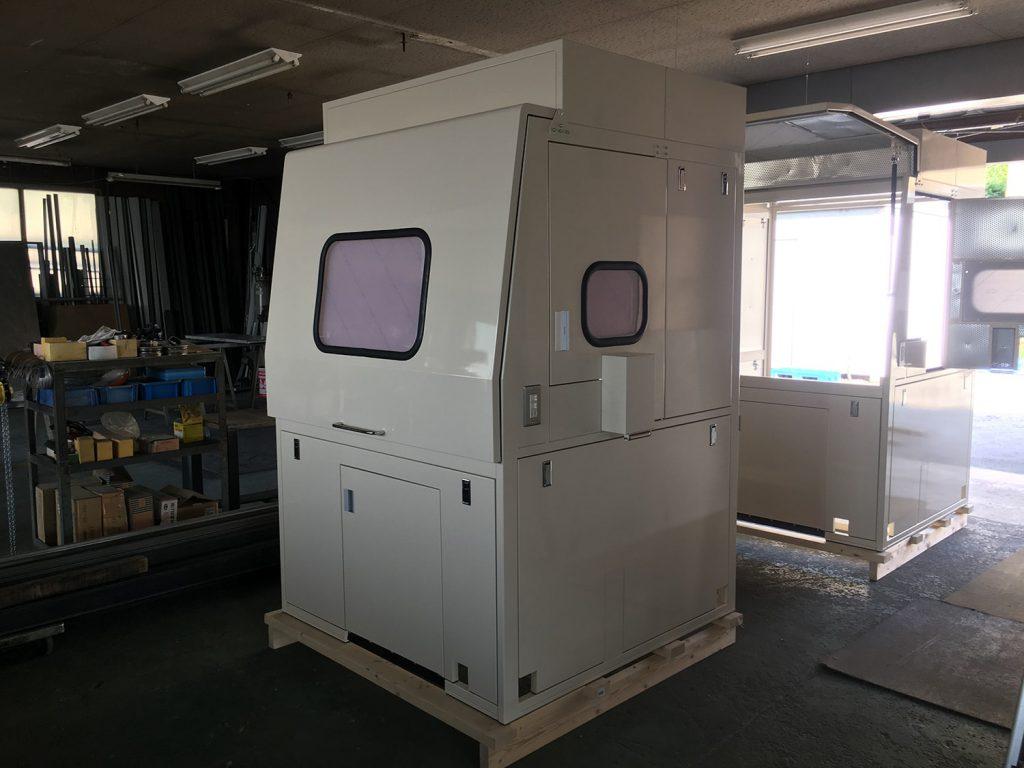 防音ボックスの製造
