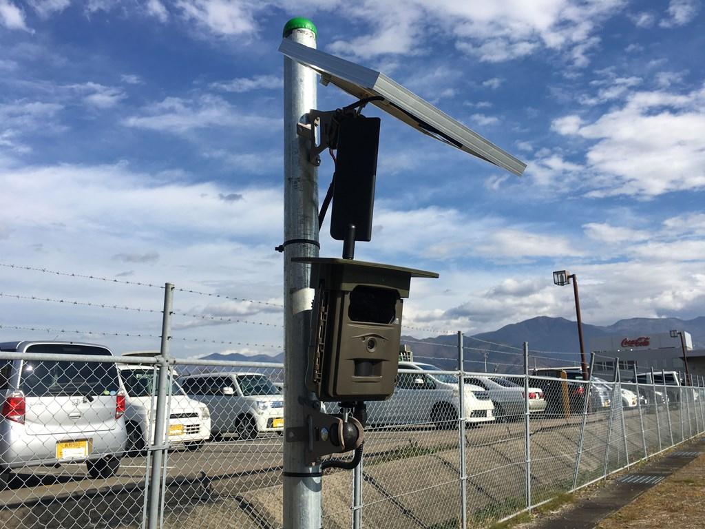 貯水池を遠隔監視!! ハイクカムLT4Gが便利!
