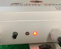 バッテリーチェック 機能  12Vバッテリー40B19で、およそ18日程度稼働できます。