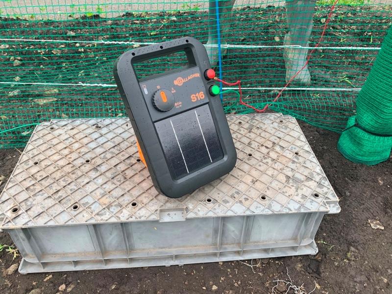 協和テクノ 長野式電気柵設置