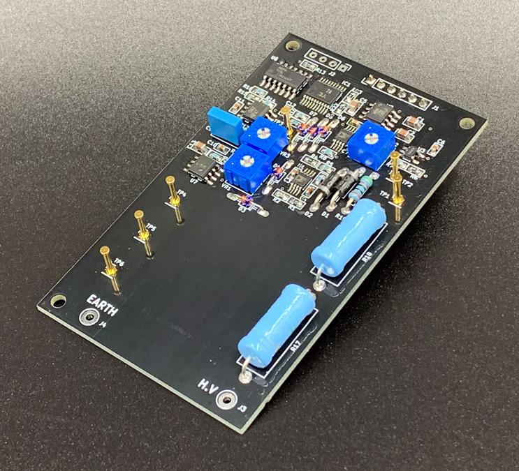 電気柵電圧測定モジュール