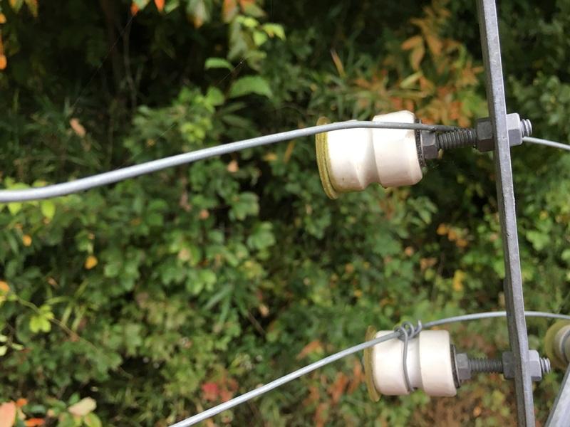 電気柵漏電箇所