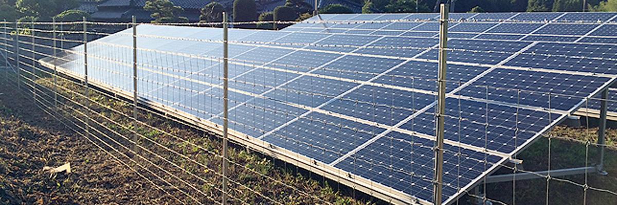 協和テクノ株式会社の太陽光フェンス
